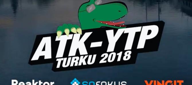 ATK-YTP 2018: The Trailer -videokuvaukset