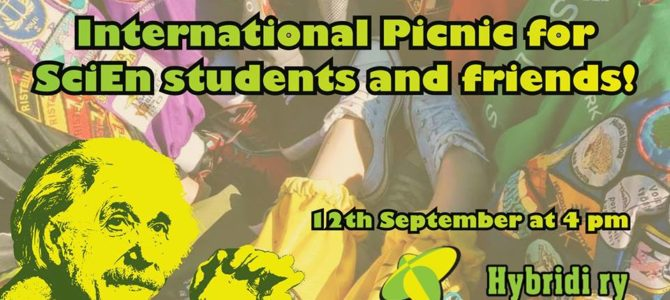 Hybridi: International Picnic for SciEn students and friends!