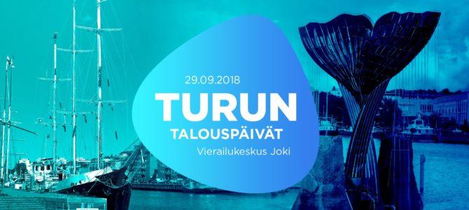 Turun Talouspäivät 29.9.