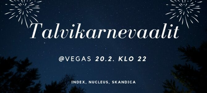 Talvikarnevaalit 20.2.