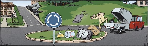 Ympäristövastaavien kierrätysterveiset